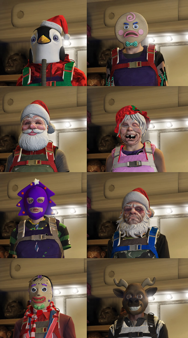 Gta 5 Online All Christmas Masks.Working Director Mode Outfit Glitch Ps4 Xb1 Page 77